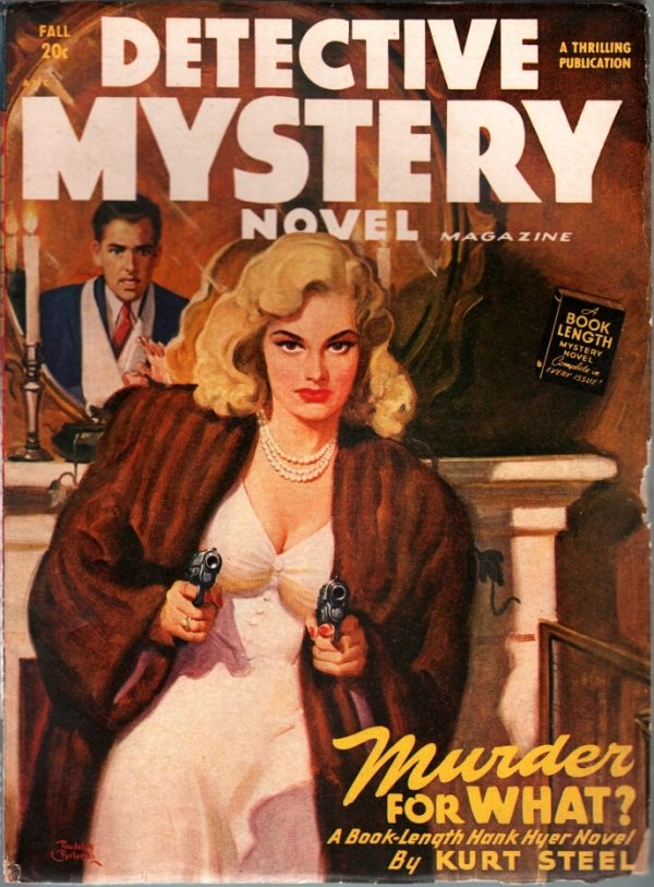 Detective Mystery Novel Fall 1948