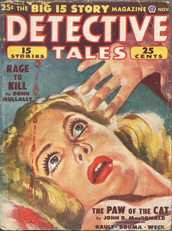 Detective Tales November 1950