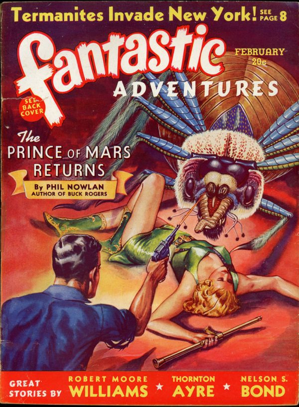 FANTASTIC ADVENTURES. February, 1940