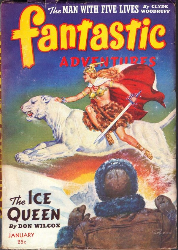 Fantastic Adventures, January 1943