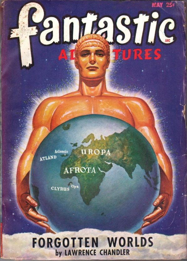 Fantastic Adventures, May 1948