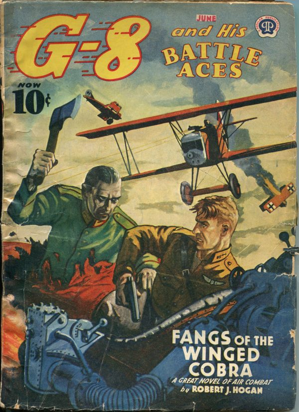 G-8 And His Battle Aces June 1941