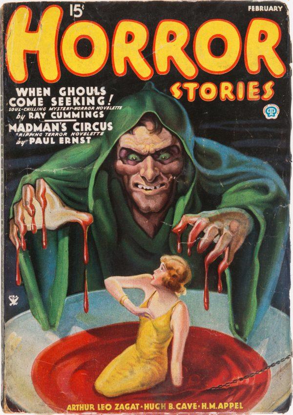 Horror Stories - February 1935