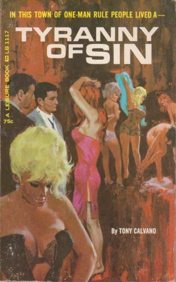 Leisure Books LB1117 - Tyranny of Sin (1965)
