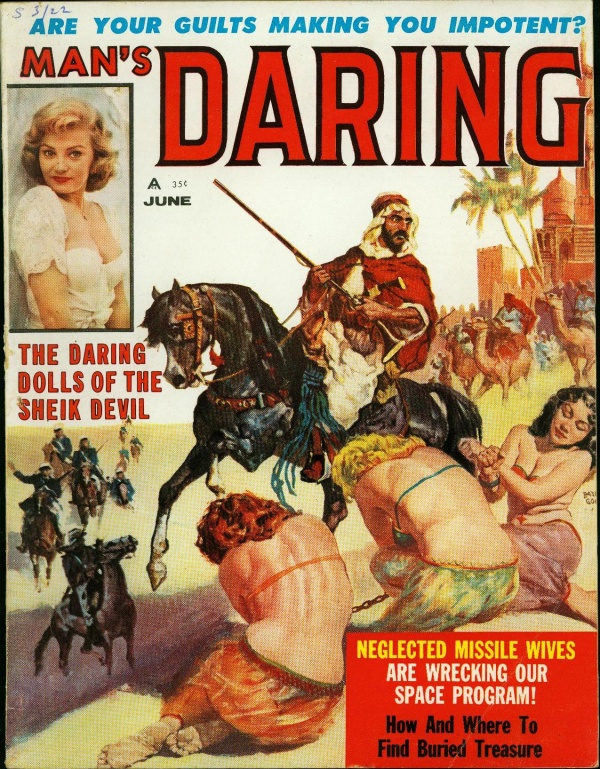 Man's Daring, June 1960