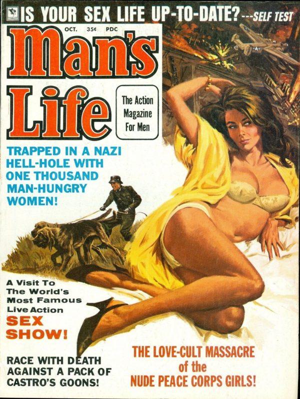 Man's Life, October 1968