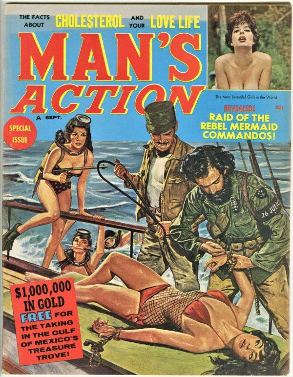 Man's Action Magazine September 1961