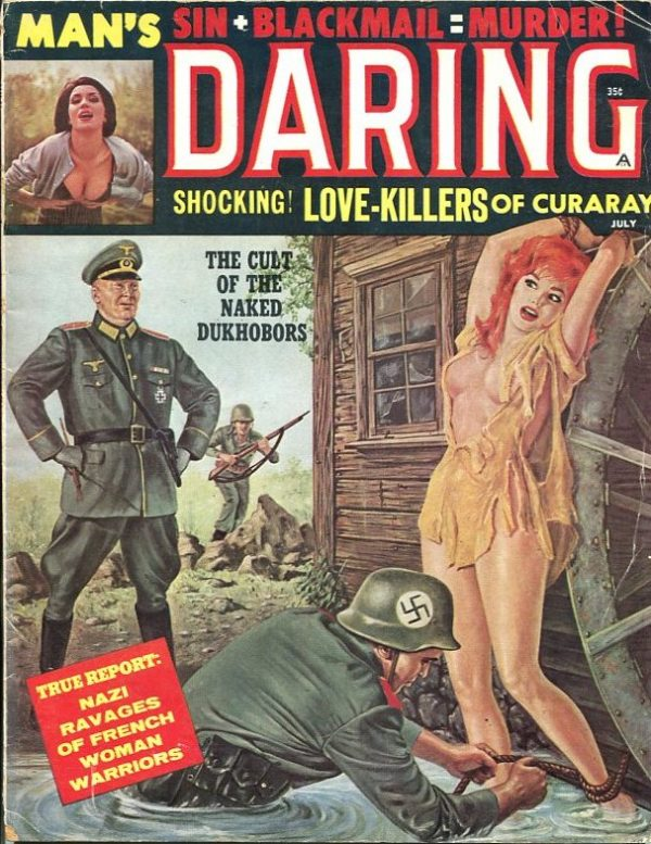 Man's Daring July 1961