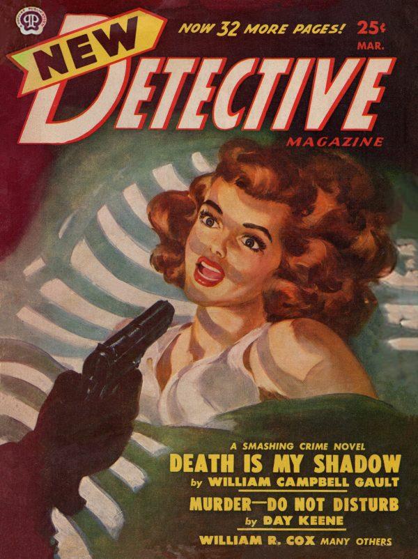 New Detective Magazine March 1950