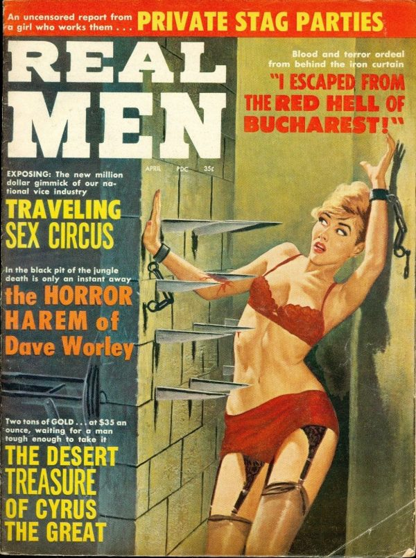 Real Men, April 1963