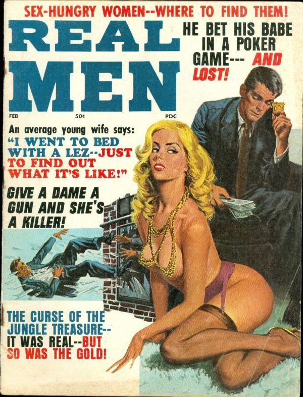 Real Men, February 1971