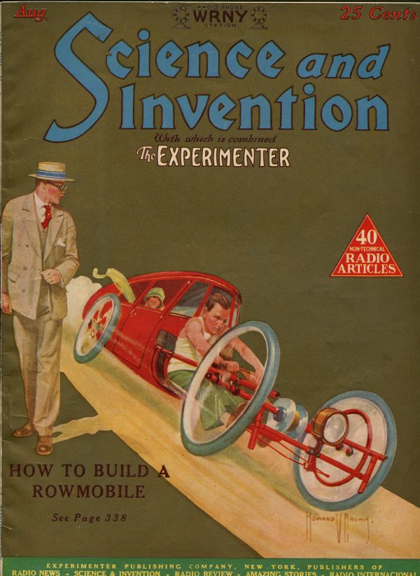 Science and Invention August 1926