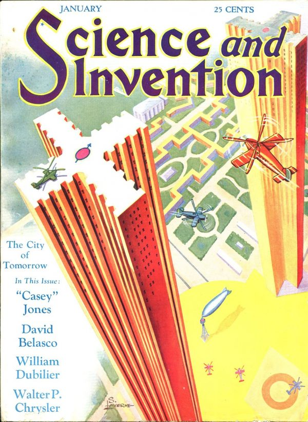 Science and Invention January 1930