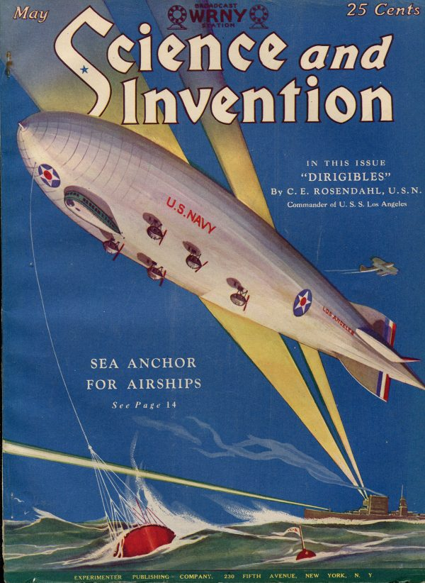 Science and Invention May 1928