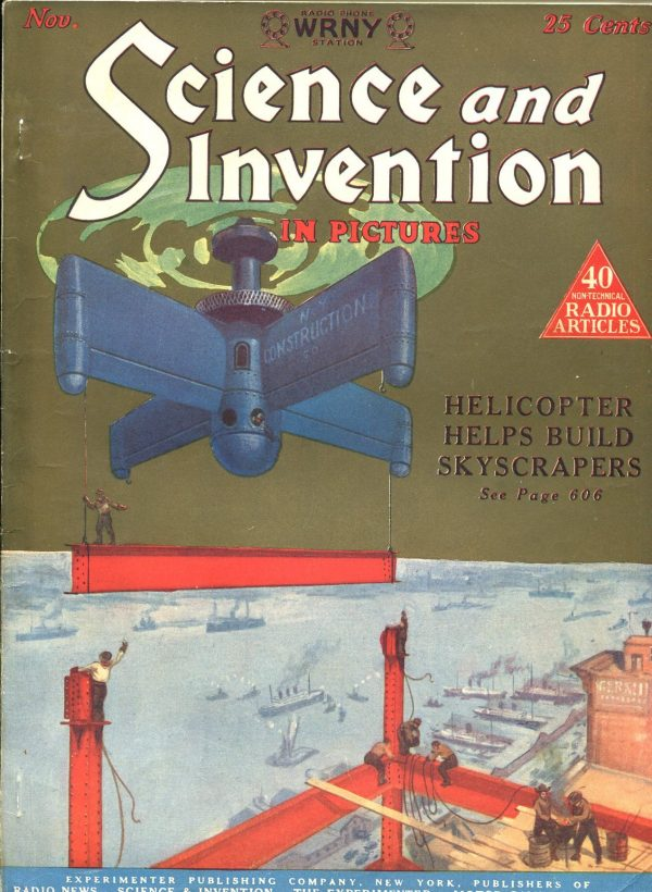 Science and Invention November 1925