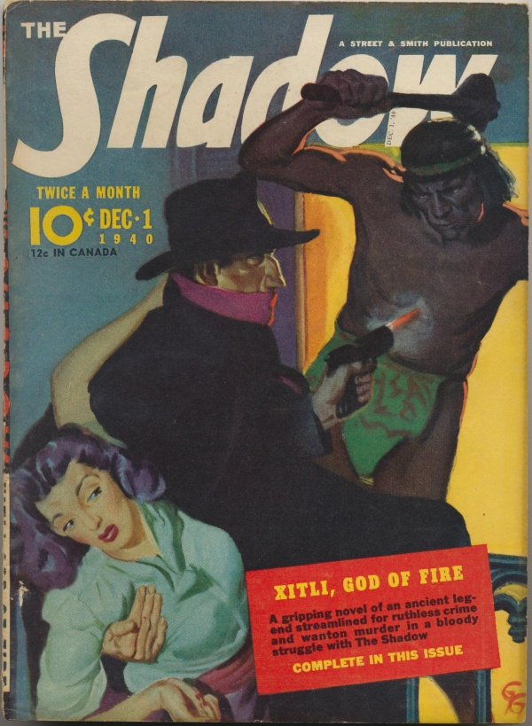 Shadow Magazine Vol 1 #211 December, 1940