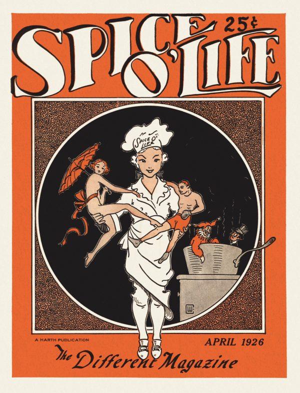 Spice O' Life v01n01, April 1926
