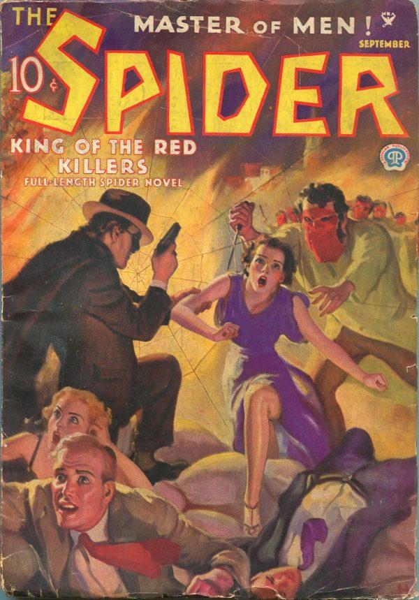 Spider September 1935