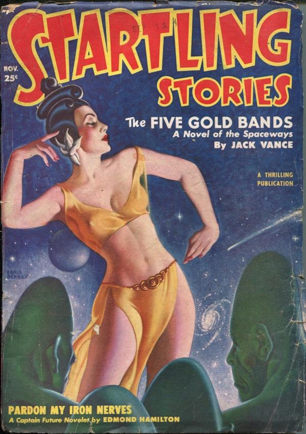 Startling Stories November 1950