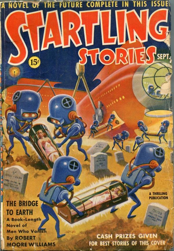 Startling Stories September 1939