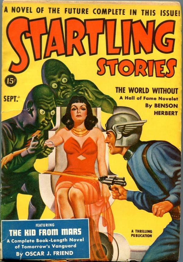 Startling Stories September 1940