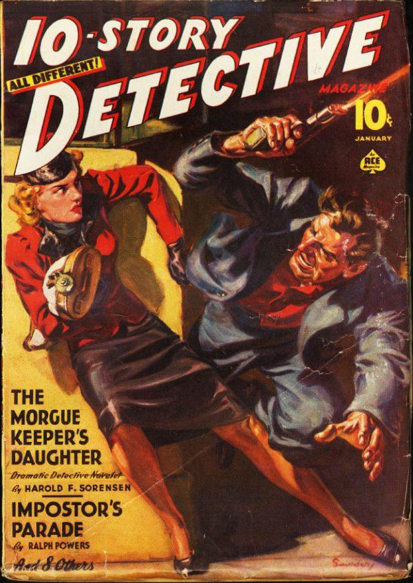 Ten-Story Detective January 1940
