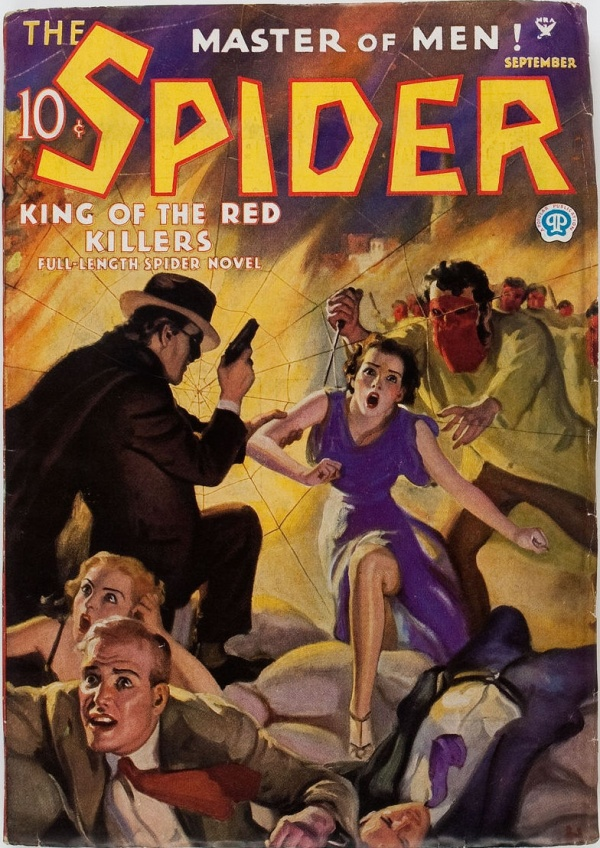 The Spider 1935 - September