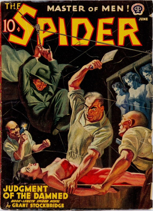 The Spider - June 1940