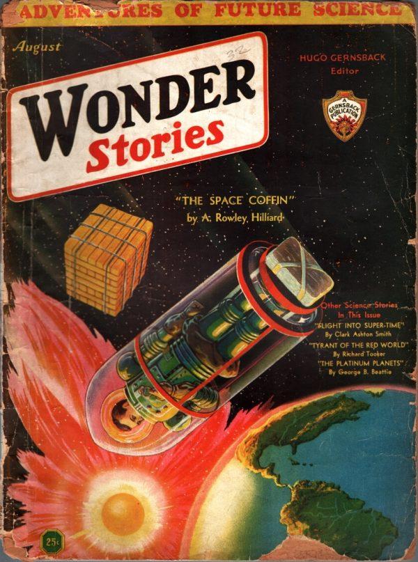 Wonder Stories August 1932