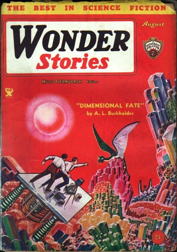 Wonder Stories August 1934