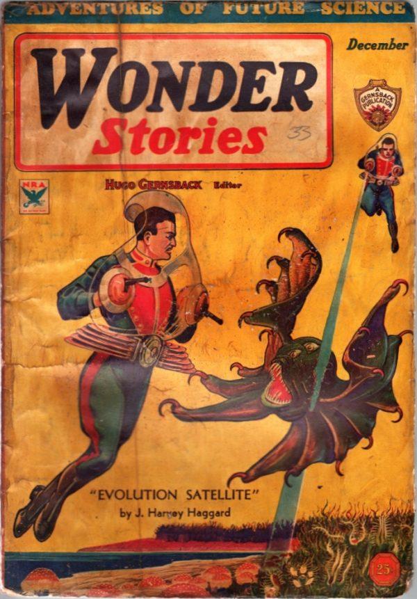 Wonder Stories December 1933