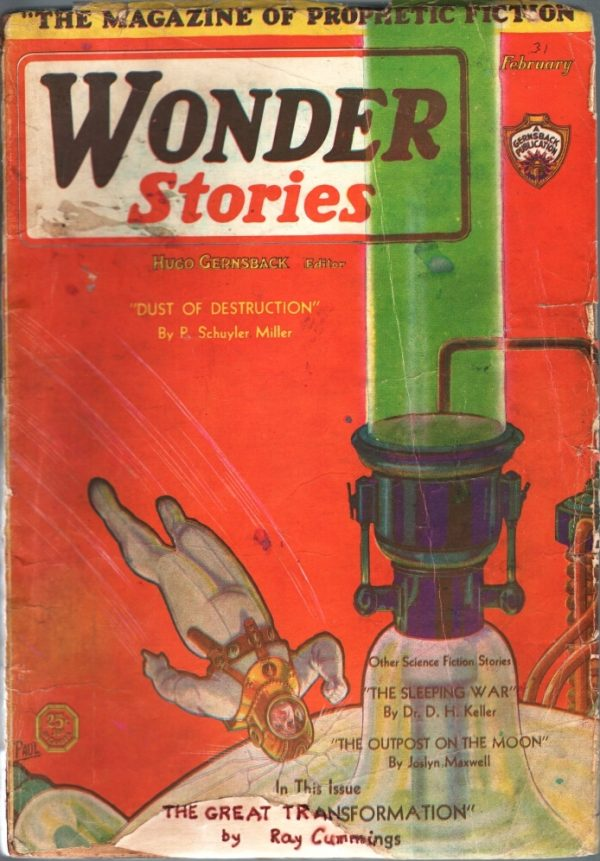 Wonder Stories February 1931