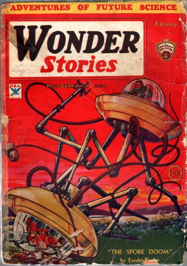 Wonder Stories February 1934