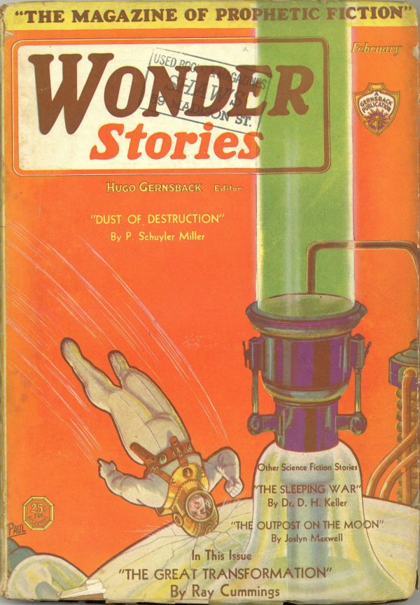 Wonder Stories February Magazine 1931
