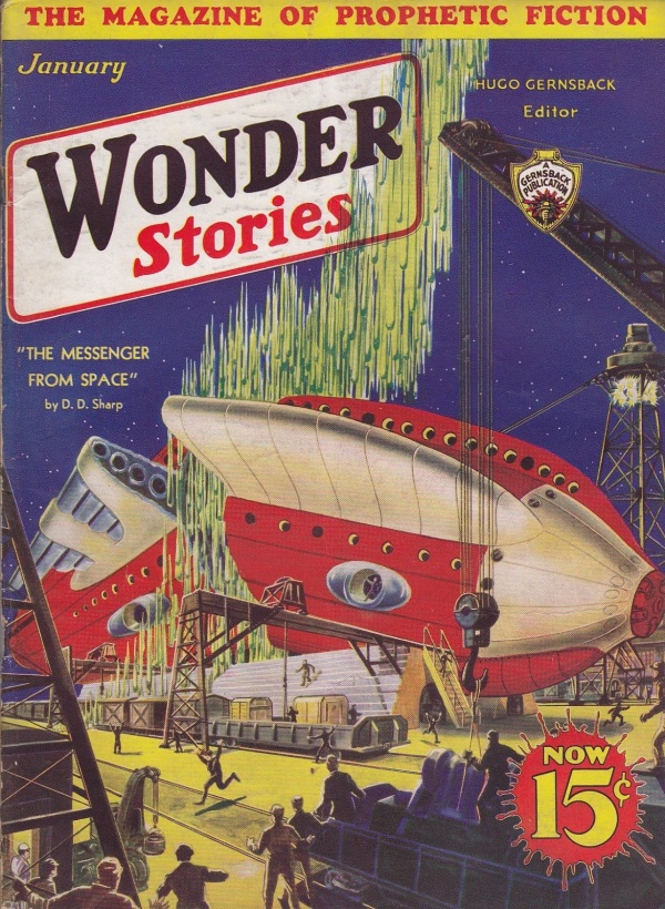 Wonder Stories, January 1933
