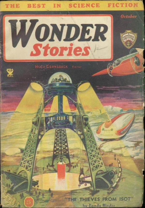 Wonder Stories October 1934