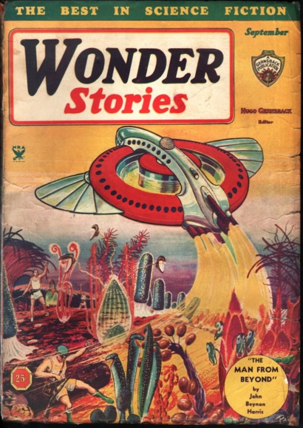 Wonder Stories September 1934