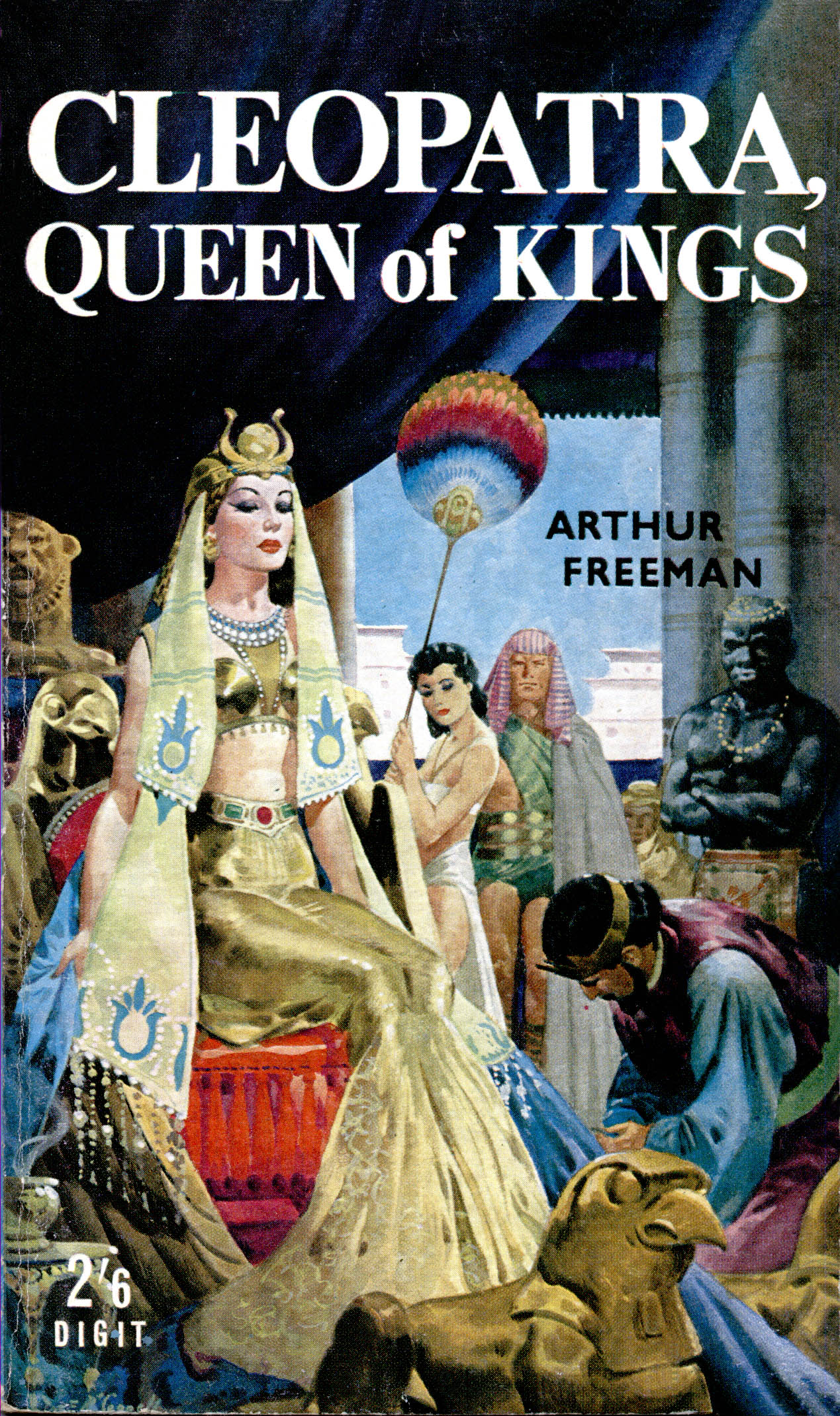 Business Book Cover Queen : Egypt page pulp covers