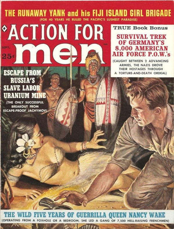 Action For Men September 1960