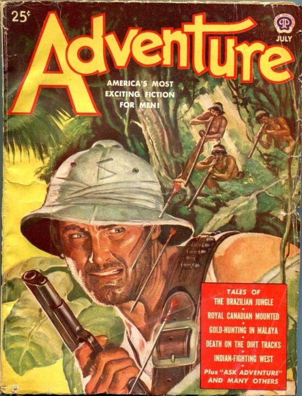 Adventure July 1949