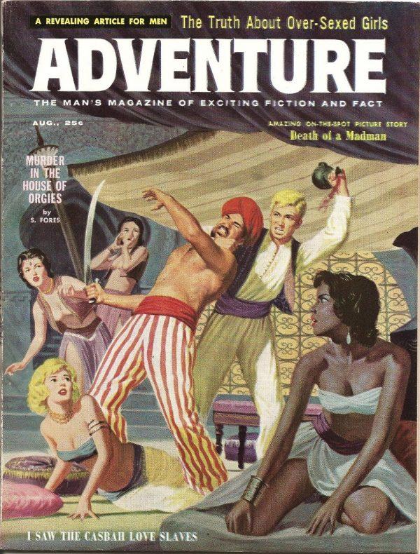 Adventure Mag Aug 1959