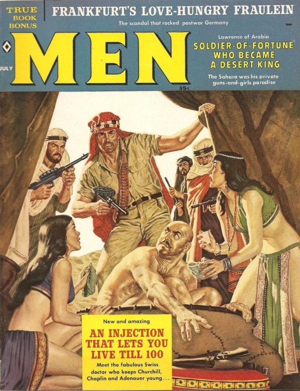 Adventure Magazine July 1960