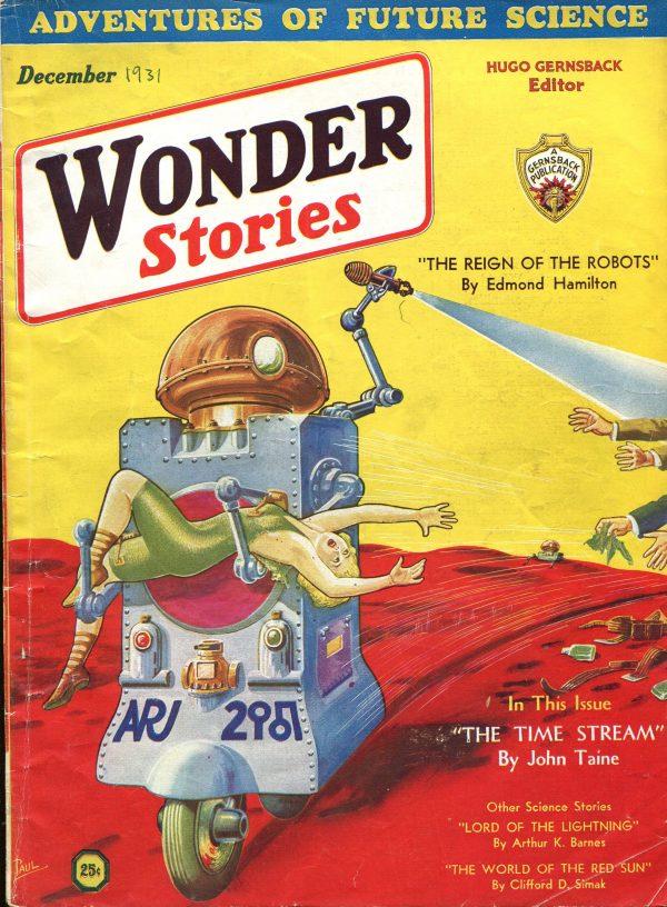 December 1931 Wonder Stories