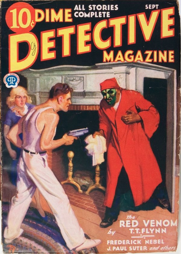 Dime Detective Magazine September 1932