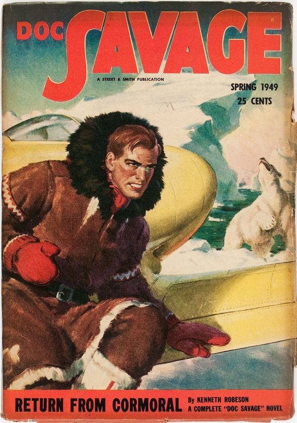 Doc Savage - Spring 1949