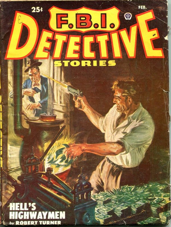 FBI Detective February 1951