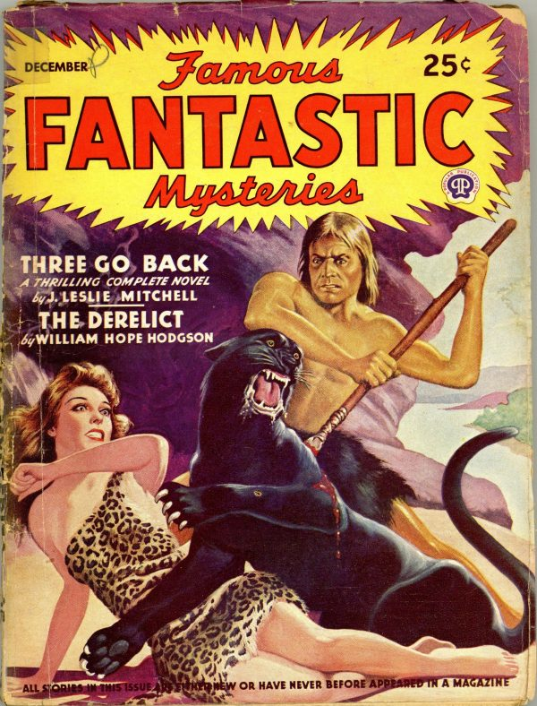 Famous Fantastic Mysteries December, 1943