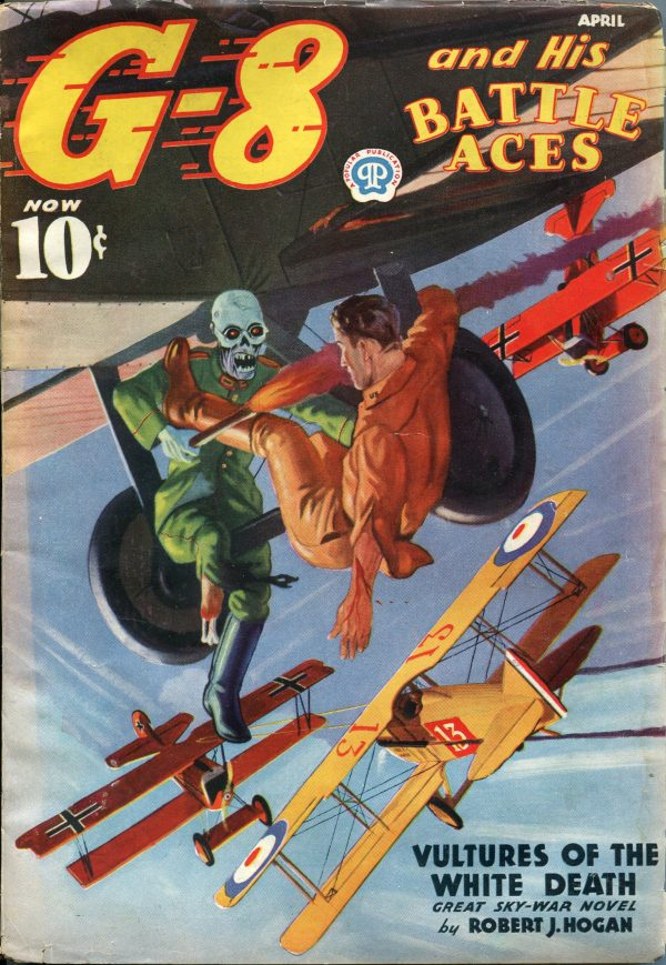 G-8 and His Battle Aces April 1937