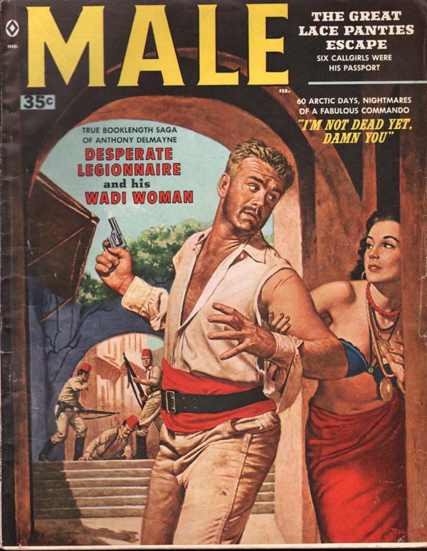 Male Magazine February 1959