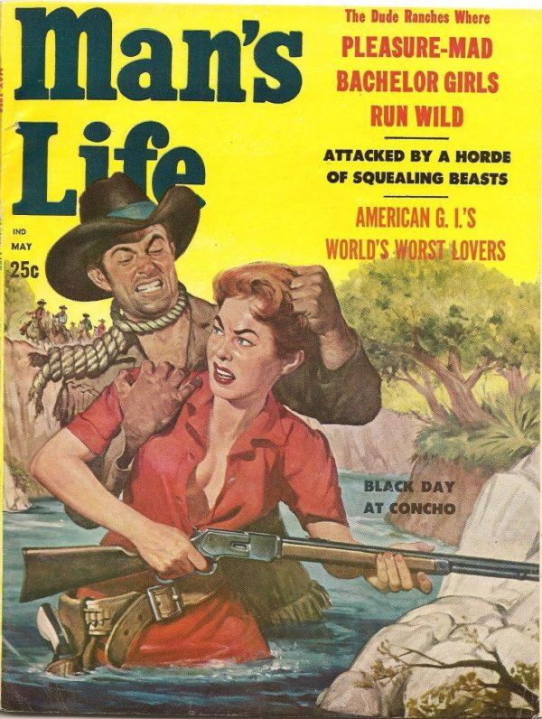 Man's Life May 1958